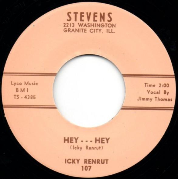 """ICKY RENRUT (aka IKE TUNER) """"HEY HEY/HO HO"""" 7"""""""