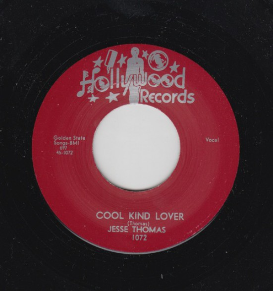 "JESSE THOMAS ""COOL KIND LOVER/ LONG TIME"" 7"""