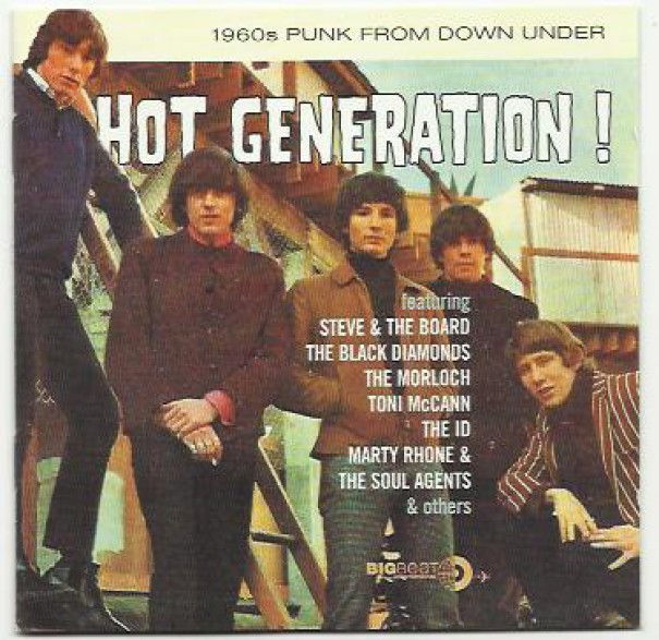HOT GENERATION! 60s PUNK FROM DOWN UNDER cd