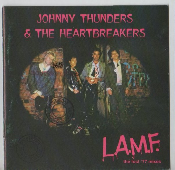 """JOHNNY THUNDERS & THE HEARTBREAKERS """"L.A.M.F - The Lost '77 Mixes"""" cd"""