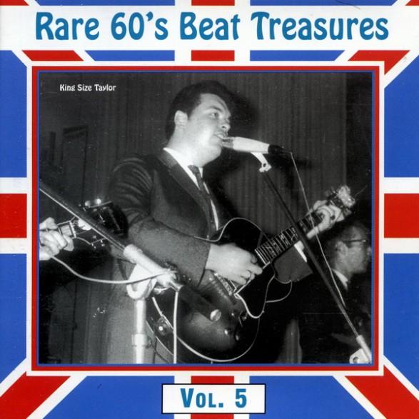 RARE 60'S BEAT TREASURES Volume FIVE cd