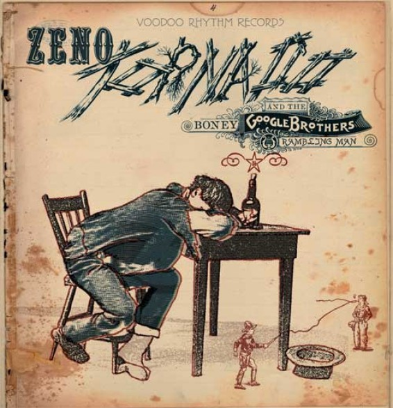"""TORNADO ZENO """"RAMBLING MAN"""" LP"""