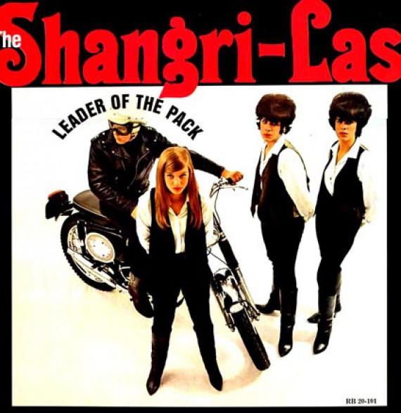 """SHANGRI-LAS """"LEADER OF THE PACK"""" LP"""