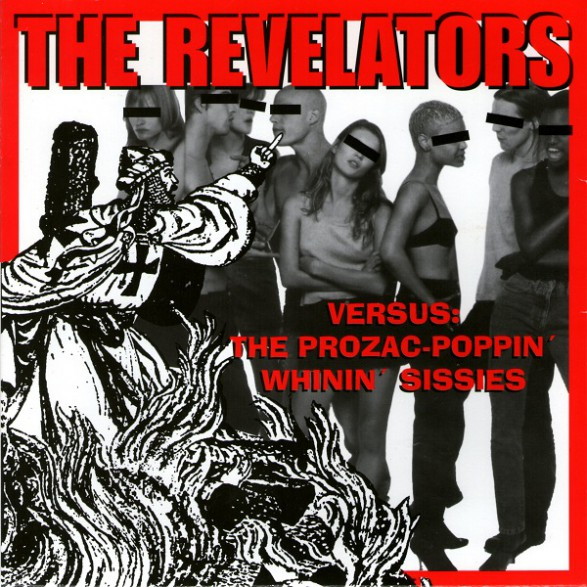 "REVELATORS ""SERVE THE MAN/CRAWDAD"" 7"""