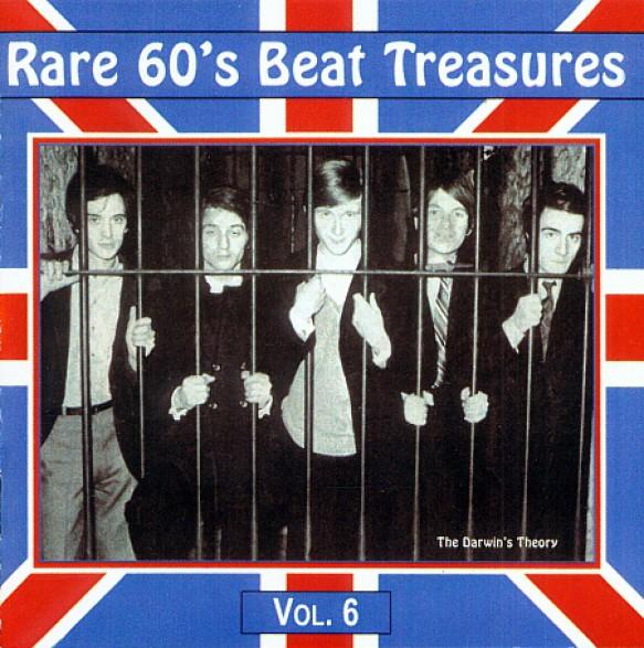RARE 60'S BEAT TREASURES VOL.6 CD