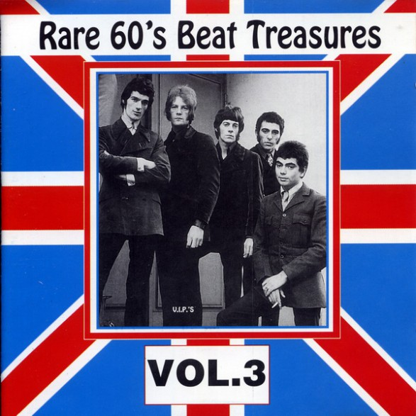 RARE 60'S BEAT TREASURES VOLUME THREE cd