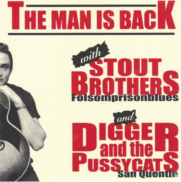 """DIGGER AND THE PUSSYCATS/STOUT BROTHERS split 7"""""""