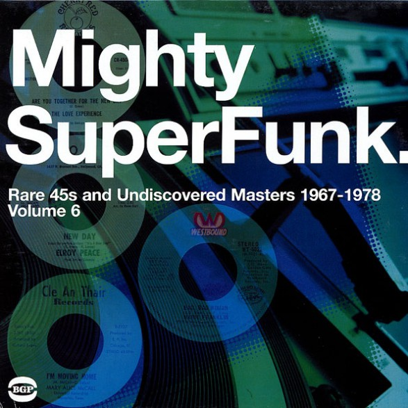 """MIGHTY SUPER FUNK"""" DOUBLE LP"""