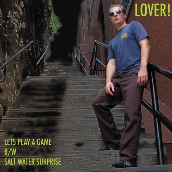 """LOVER """"LET'S PLAY A GAME"""" 7"""""""