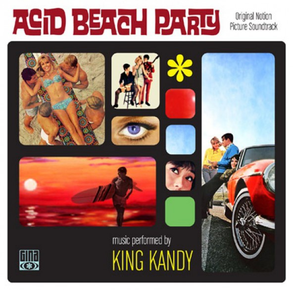 KING KANDY: ACID BEACH PARTY cd