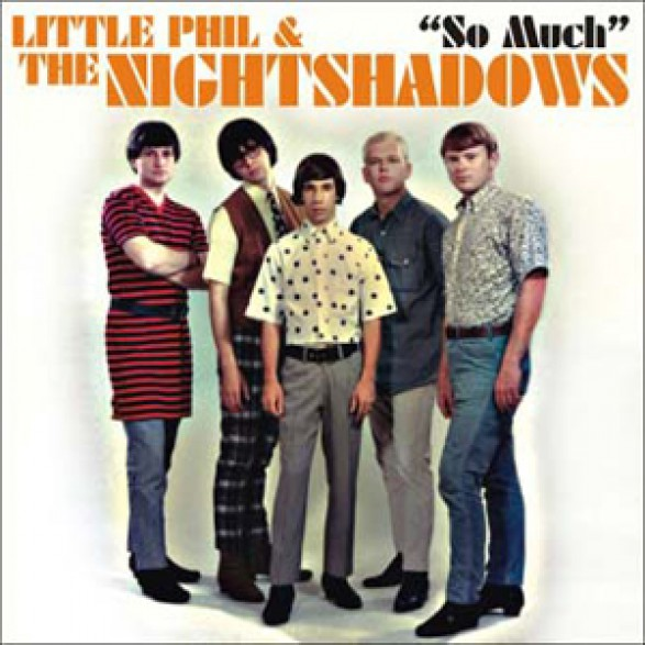 """Little Phil & The Nightshadows """"So Much/Toxic Shock"""" 7"""""""