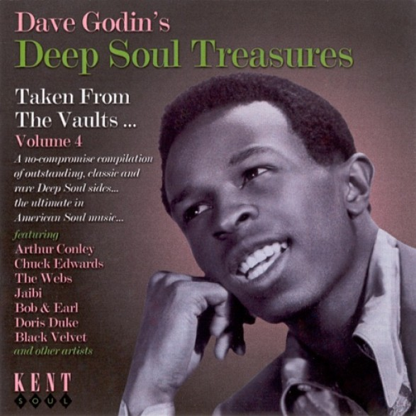 DAVE GODIN'S DEEP SOUL TREASURES 4 CD
