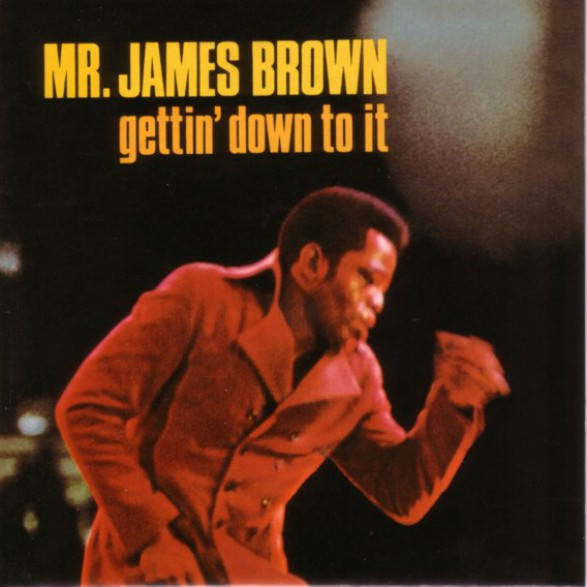 "JAMES BROWN ""GETTING DOWN TO IT"" LP"