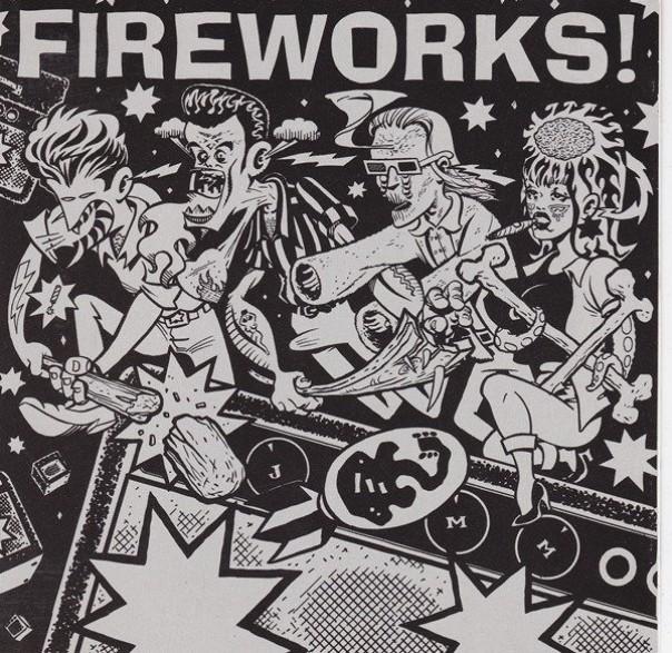 "FIREWORKS ""SET THE WORLD ON FIRE"" CD"