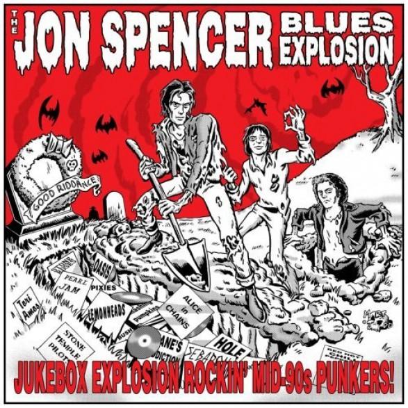 "JON SPENCER BLUES EXPLOSIONS ""JUKEBOX EXPLOSION"" CD"