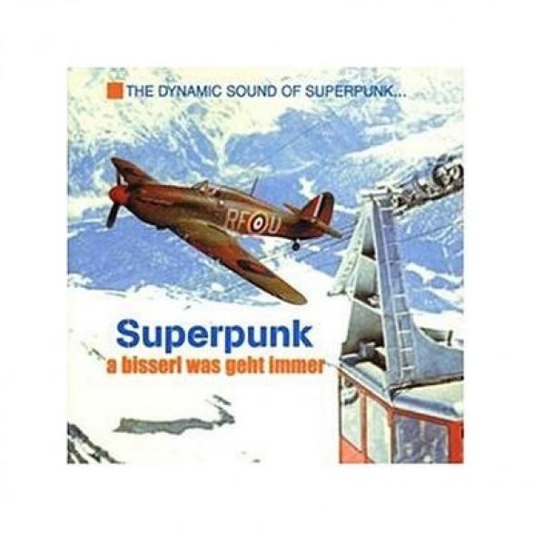 """SUPERPUNK """"A BISSERL WAS GEHT IMMER"""" CD"""