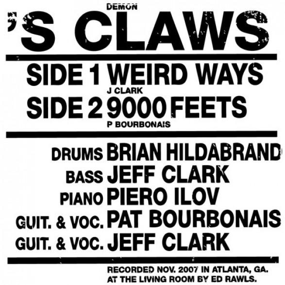 "DEMON'S CLAWS ""WEIRD WAYS/9000 FEETS"" 7"""