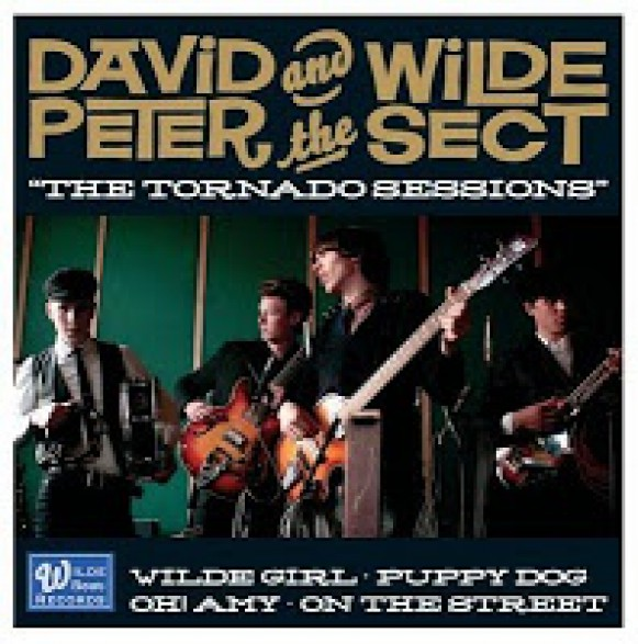 "DAVID PETER AND THE WILDE SECT ""The Tornado Sessions"" 7"""