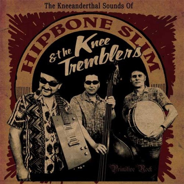 """HIPBONE SLIM """"KNEEANDERTHAL SOUNDS"""" LP"""