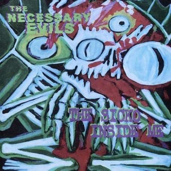 """NECESSARY EVILS """"THE SICKO INSIDE ME"""" LP"""