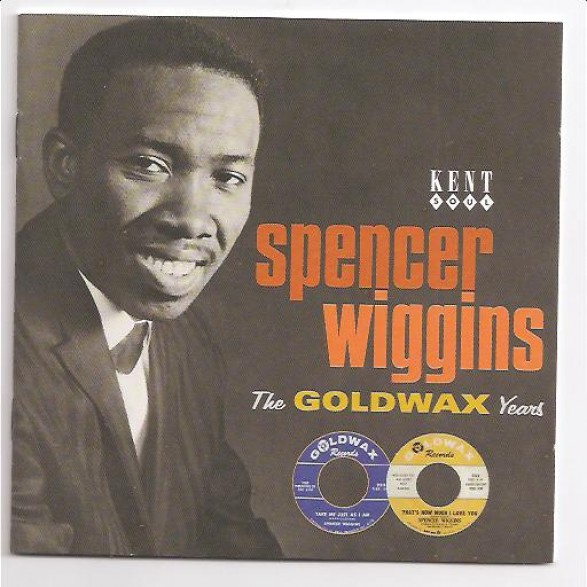 "SPENCER WIGGINS ""GOLDWAX YEARS"" CD"