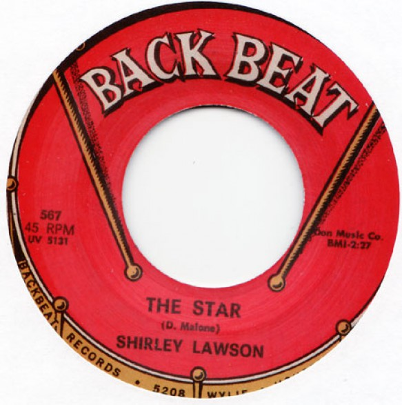 "SHIRLEY LAWSON ""THE STAR/ONE MORE CHANCE"" 7"""