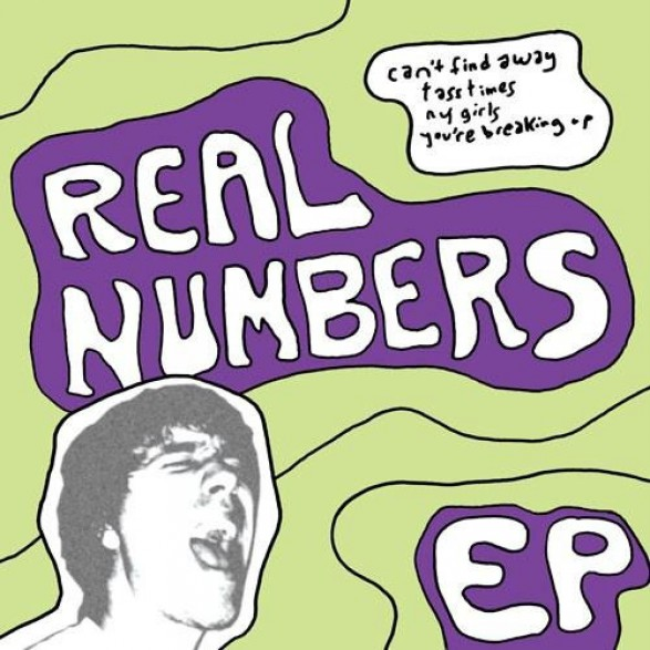 "REAL NUMBERS ""CAN'T FIND A WAY +3"" 7"""