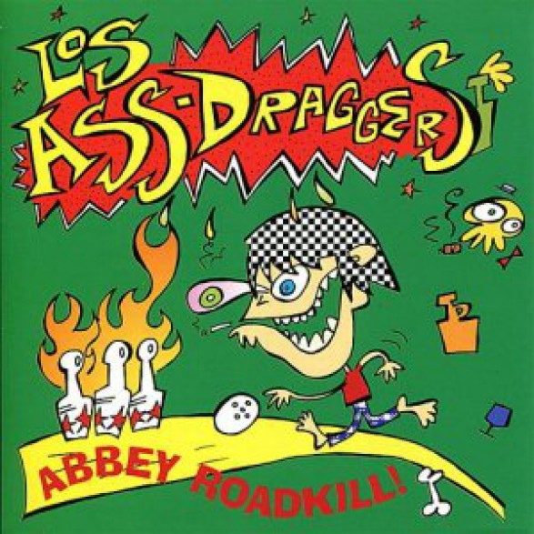"LOS ASS-DRAGGERS ""ABBEY ROADKILL!"" cd"
