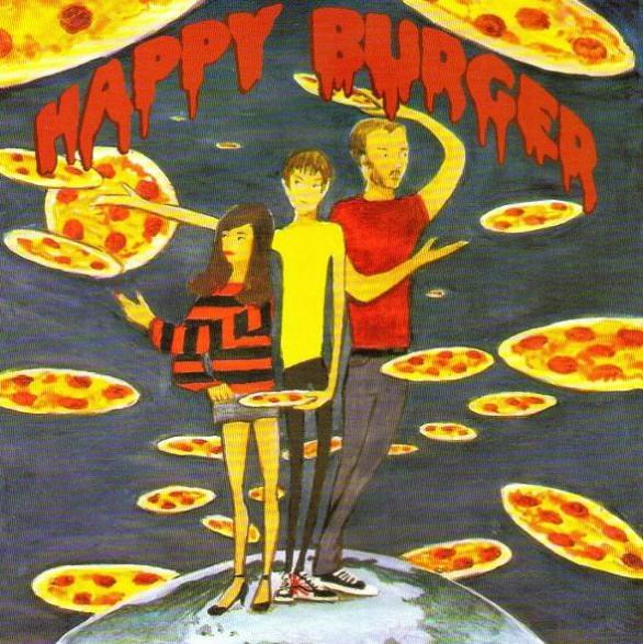 "HAPPY BURGER ""PIZZA ALL AROUND"" 7"""