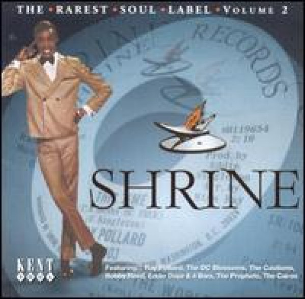 SHRINE - THE RAREST SOUL LABEL VOL 2 CD