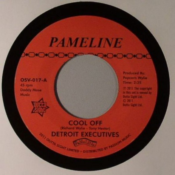 """Detroit Executives """"Cool Off/ Mighty Lovers Mighty Lover"""" 7"""""""
