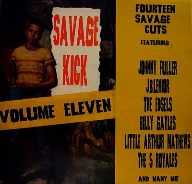 SAVAGE KICK Volume 11 LP
