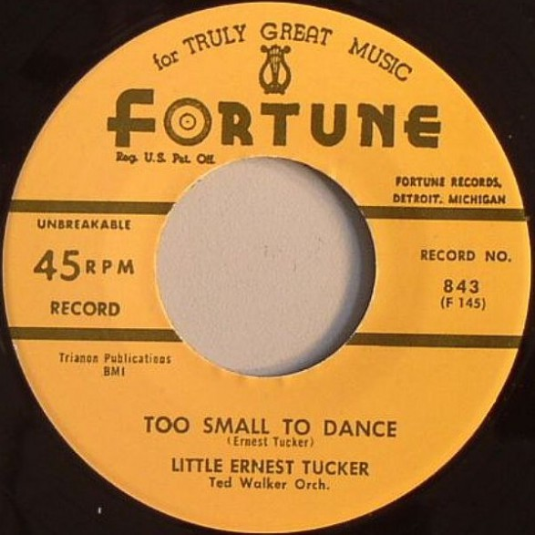 "LITTLE ERNEST TUCKER ""Gonna Get Me A SateliteTOO SMALL TO DANCE"" 7"""