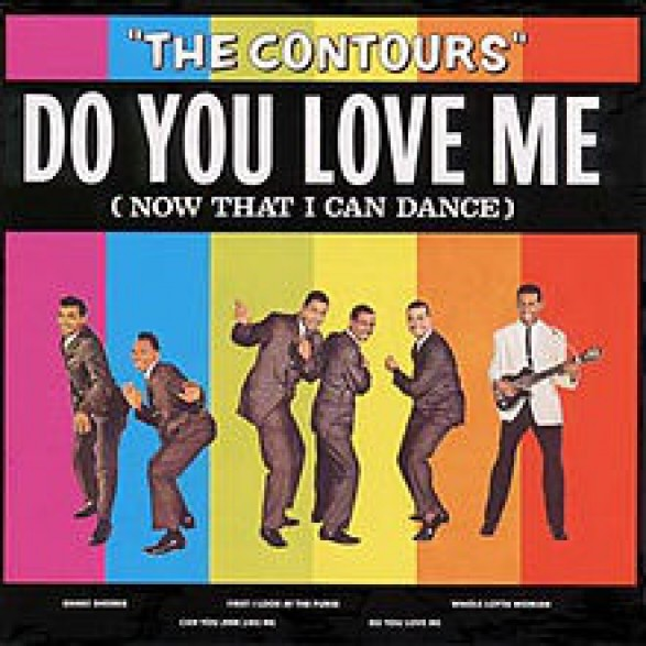 "CONTOURS ""DO YOU LOVE ME"" LP"