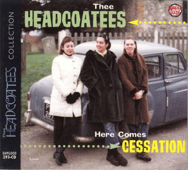 """HEADCOATEES """"Here Comes Cessation"""" CD"""