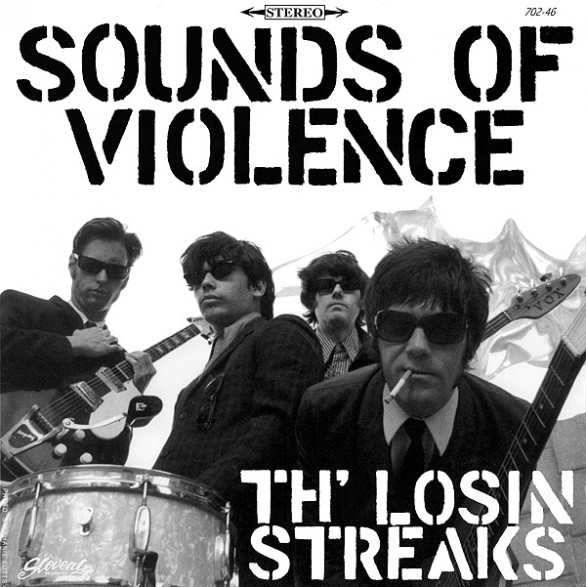 "LOSIN STREAKS ""SOUNDS OF VIOLENCE"" LP"