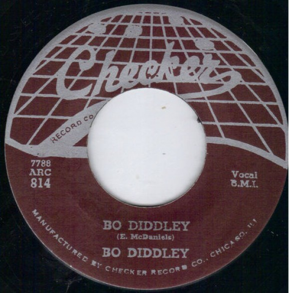 "BO DIDDLEY ""BO DIDDLEY/I'M A MAN"" 7"""