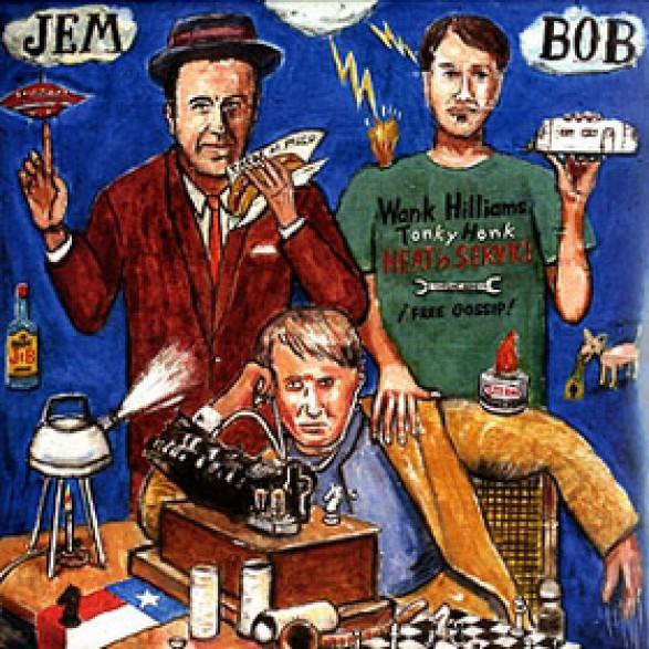 "DM BOB & JEM FINER ""PIRANA"" LP"