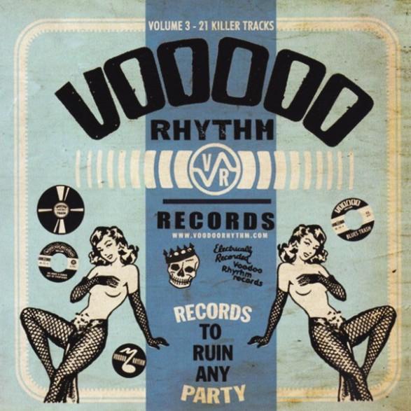 VOODOO RHYTHM COMP VOLUME 3 CD