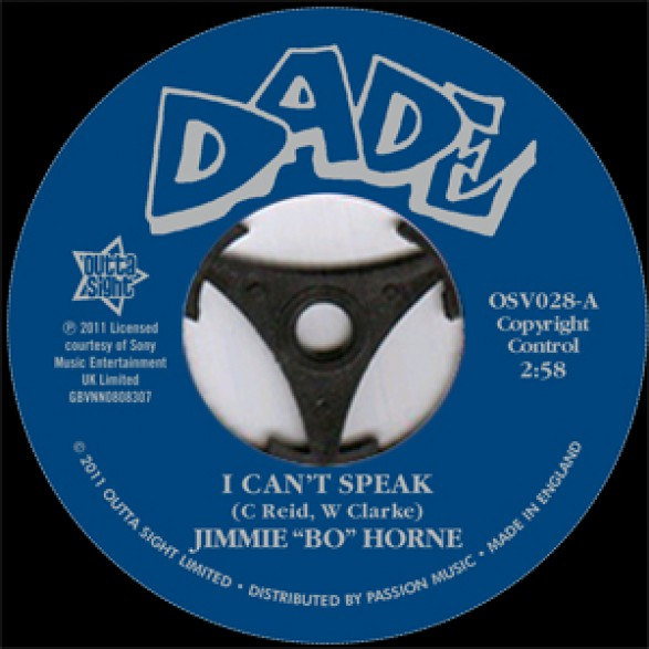 """Jimmie Bo Horne """"I Can't Speak/ If You Want My Love"""" 7"""""""