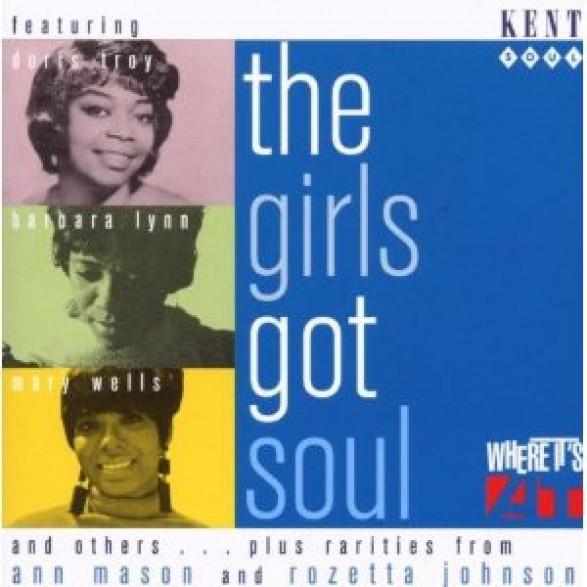 GIRLS GOT SOUL CD