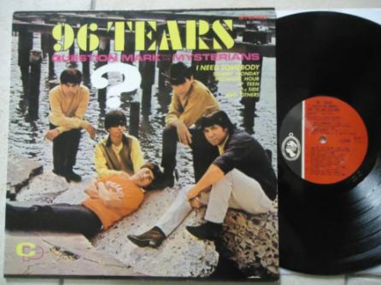 "QUESTION MARK & MYSTERIANS ""96 TEARS"" LP"