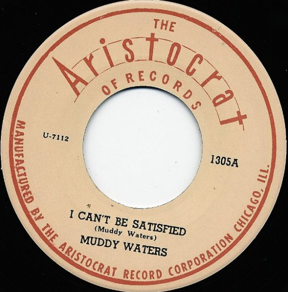 "MUDDY WATERS ""I CAN'T BE SATISFIED/ You're Gonna Miss Me"" 7"""