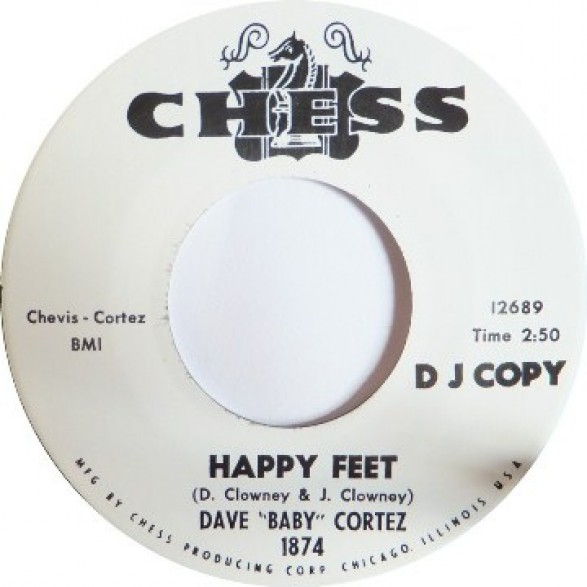 """DAVE 'BABY' CORTEZ """"GETTIN' TO THE POINT / HAPPY FEET"""" 7"""""""