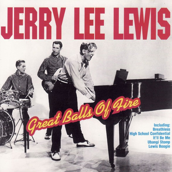 """JERRY LEE LEWIS """"GREAT BALLS OF FIRE"""" CD"""