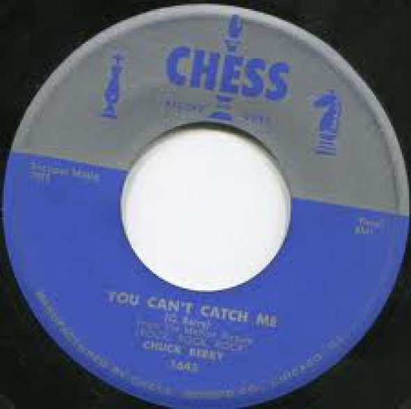 """CHUCK BERRY """"DOWNBOUND TRAIN/YOU CAN'T CATCH ME"""" 7"""""""