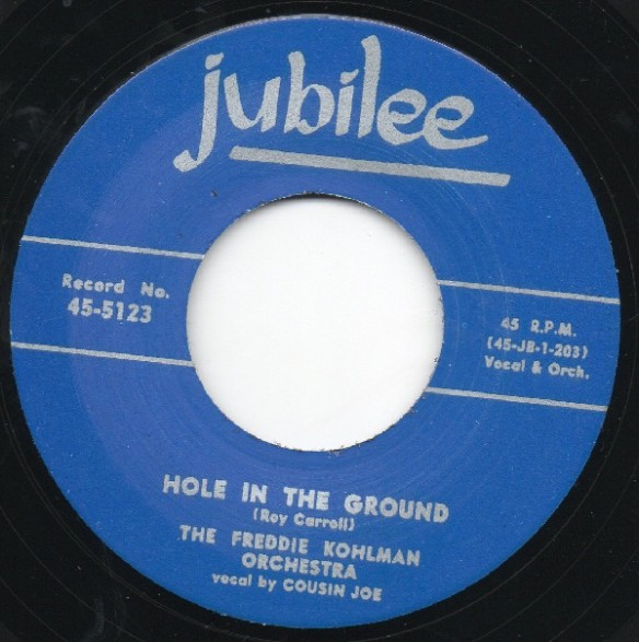 """PINEY BROWN """"OOH YOU BRING OUT THE WOLF IN ME"""" / FREDDIE KOHLMAN ORCH. """"HOLE IN THE GROUND"""" 7"""""""