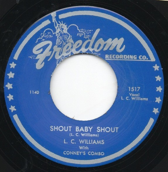 "CARL CAMPBELL ""OOH WEE BABY! / L.C. WILLIAMS ""SHOUT BABY SHOUT"" 7"""