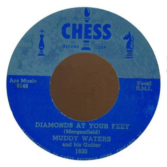 "MUDDY WATERS ""SUGAR SWEET/DIAMONDS AT YOUR FEET"" 7"""