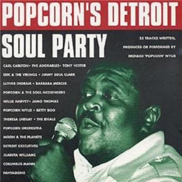 POPCORN'S DETROIT SOUL PARTY CD